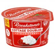 Breakstone's Cottage Doubles Strawberry Cottage Cheese, 4.7 Ounce -- 12 per case