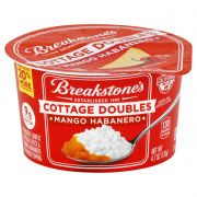 Breakstones Cottage Doubles Mango Habanero Cottage Cheese, 4.7 Ounce -- 12 per case.