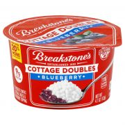 Breakstones Cottage Doubles Blueberry Cottage Cheese, 4.7 Ounce -- 12 per case.