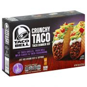 Taco Bell Crunchy Taco Dinner Kit, 8.85 Ounce -- 12 per case.
