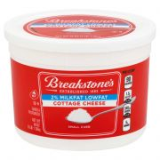 Breakstones Small Curd Cottage Cheese, 3 Pound -- 8 per case.
