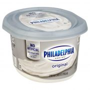 Philadelphia Regular Soft Cream Cheese Spread, 12 Ounce -- 12 per case.
