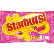 Starburst Fave Reds Valentines Fruit Chews Candy, 11 Ounce -- 12 per case
