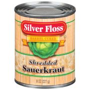 Silver Floss Shredded Sauerkraut, 8 Ounce -- 24 per case.