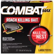 Combat Source Kill Max Large Roach Killing Bait Kit, 0.49 Ounce -- 12 per case