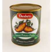 Dunbar Sweet Potato Puree, 108 Ounce -- 6 per case.