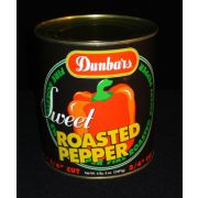 Dunbars Diced Roasted Red Peppers - no.10 can, 6 cans per case