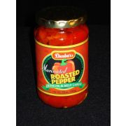 Dunbar Marinated Roasted Red Peppers - 12 oz. jar, 12 jars per case