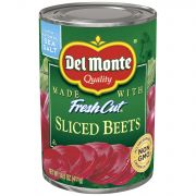 Del Monte Sliced Beets, 14.5 Ounce - 12 per pack -- 1 each.