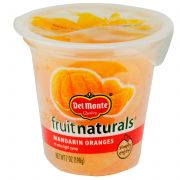 Del Monte Fruit Naturals Mandarin Orange in Juice, 7 Ounce -- 12 per case.