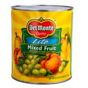 Del Monte Mixed Fruit in Extra Light Syrup, 105 Ounce Can -- 6 per case.
