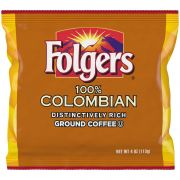Folgers Colombian Satellite Ground Coffee -- 50 per case.