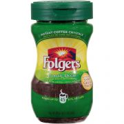 Folgers Decaffeinated Instant Coffee Powder, 3 Ounce - 12 per pack -- 1 each.