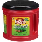 Folgers Simply Smooth Caffeinated Ground Coffee, 31.1 Ounce -- 6 per case