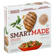 Smart Made Orange Sesame Chicken Entrees/Sides, 9 Ounce -- 8 per case.