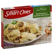 Smart Ones Cheese Ravioli In Mushroom Cream Entrees/Sides, 8.5 Ounce -- 12 per case.