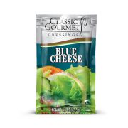 Classic Gourmet Blue Cheese Dressing, 1.5 Ounce Pouch -- 60 per case.