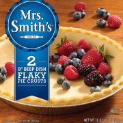Mrs Smiths 9 inch Deep Dish Pie Shell, 16 Ounce -- 12 per case.