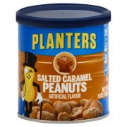 Planters Salted Caramel Peanuts, 6 Ounce -- 8 per case.