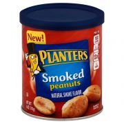 Planters Smoked Peanuts, 6 Ounce -- 8 per case.