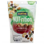 Planters Omega 3 Mix Nut-rition Snack Nuts, 5.5 Ounce -- 8 per case.