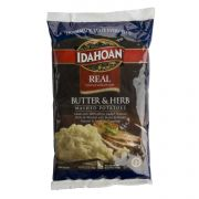 Idahoan Real Butter and Herb Mash Potatoes, 32 Ounce -- 8 per case.