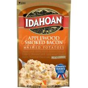 Idahoan Applewood Smoked Bacon Mashed Potatoes, 4 Ounce Pouch -- 12 per case.