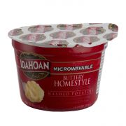 Idahoan Buttery Homestyle Mashed Potatoes, 1.5 Ounce Cup -- 10 per case.