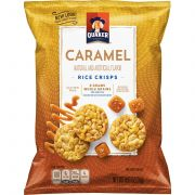 Quaker Mini Caramel Rice Snacks, 0.91 oz. bag, 60 per case