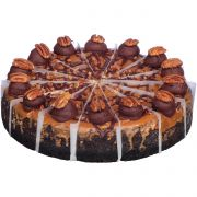 Sara Lee Bistro Collection Round Flavored Collection Cheesecake - Variety Pack, 10 inch -- 4 per case.