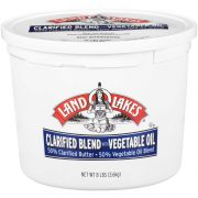 Land O Lakes Clarified Blend with Vegetable Oil, 8 Pound -- 2 per case.