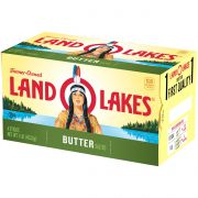Land O Lakes Quarter Salted Butter, 4.4 Ounce -- 36 per case.