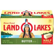 Land O Lakes Half Stick Salted Butter, 1 Pound -- 12 per case