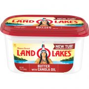 Land O Lakes Butter with Canola Oil, 24 Ounce -- 6 per case.
