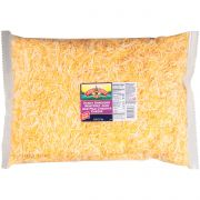 Land O Lakes Yellow Shredded Mild Cheddar Cheese, 5 Pound -- 4 per case.