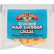 Land O Lakes Mild Cheddar Cheese Cubes, 0.062 Pound -- 200 per case.