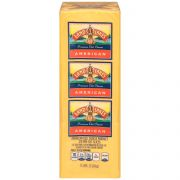 Land O Lakes American Yellow Deli Process Cheese Loaf - Sliced, 5 Pound -- 6 per case.