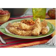 John Soules Foods Frozen Fully Cooked Breaded Chicken Breast Strips with Rib Meat, 5 Pound -- 2 per case