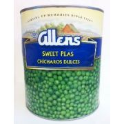 Allens Canned Sweet Green Pea, 105 Ounce -- 6 per case.