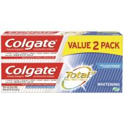Colgate Total Whitening Toothpaste Gel, 2 count per pack -- 6 per case