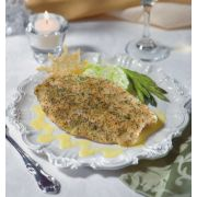 Fishery Roasted Garlic and Herb Pan Seared Tilapia - 5 Ounce, 10 Pound -- 1 each.