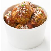 Cooked Perfect Gourmet All Beef Meatball, 80 Ounce -- 2 per case