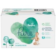 Pampers Pure Protection Size 2 Diaper -- 104 per case
