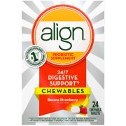 Align Banana and Strawberry Adult Chewable Tablet, 24 count per pack -- 12 per case.