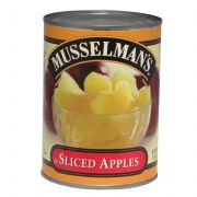 Knouse Foods Musselmans Sliced Apples, 20 Ounce -- 12 per case.
