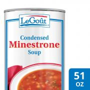 LeGout Minestrone Condensed Canned Soup, 51 ounce -- 12 per case