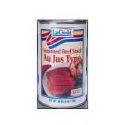 LeGout Au Jus With Beef Stock - Ready To Serve No Msg, 48 ounce -- 12 per case