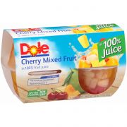 Dole Cherry Mixed Fruit in Light Syrup, 16 Ounce -- 6 per case.