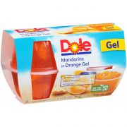 Dole Mandarins in Orange Gel, 4.3 Ounce -- 24 per case.