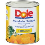 Dole Mandarin Orange Fruit in Juice, 106.187 Ounce -- 6 per case.